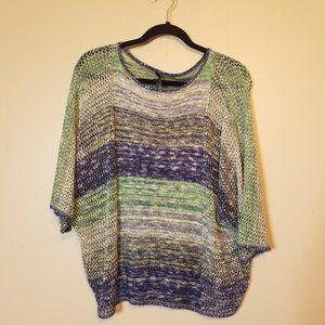 JW JW Style Loose Knit Light Weight Sweater Sz XL